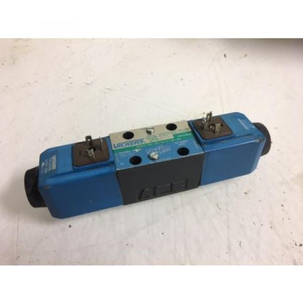 Vickers Botswana Hydraulic Valve, DG4V-3S-2N-M-U-H5-60, 24V Solenoid, Used, WARRANTY #1 image