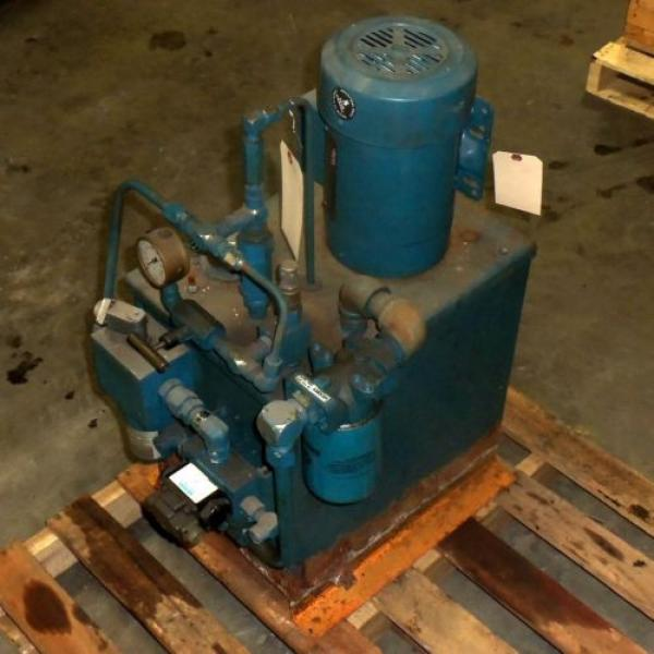 VICKERS Argentina  2HP HYDRAULIC PUMP SYSTEM #1 image