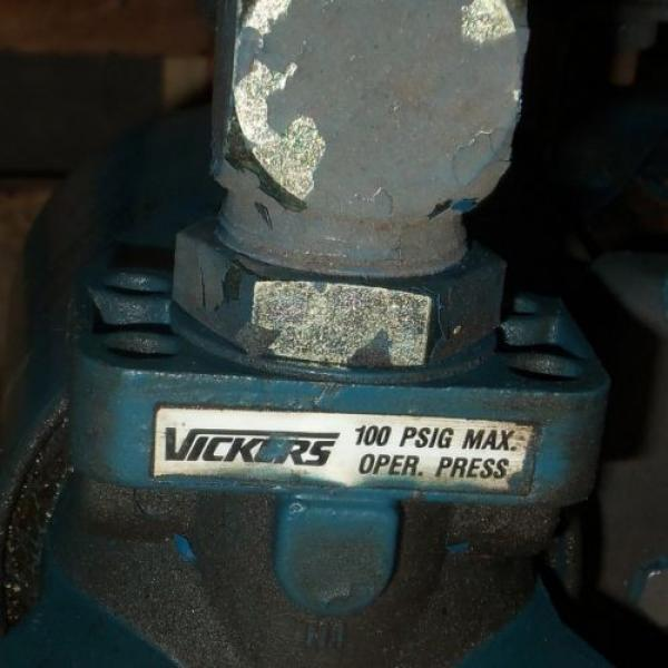 VICKERS Argentina  2HP HYDRAULIC PUMP SYSTEM #4 image