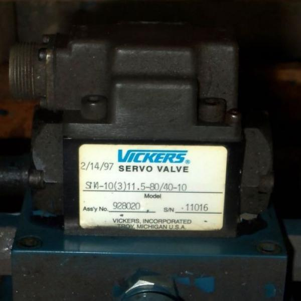 VICKERS Argentina  2HP HYDRAULIC PUMP SYSTEM #5 image