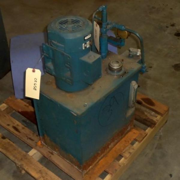 VICKERS Argentina  2HP HYDRAULIC PUMP SYSTEM #7 image