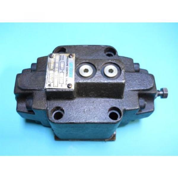 VICKERS CostaRica RCG-06-A1-30 HYDRAULIC PRESSURE CONTROL VALVE 80-250 PSI Origin CONDITION #1 image
