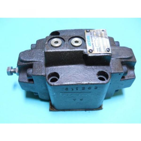VICKERS CostaRica RCG-06-A1-30 HYDRAULIC PRESSURE CONTROL VALVE 80-250 PSI Origin CONDITION #4 image