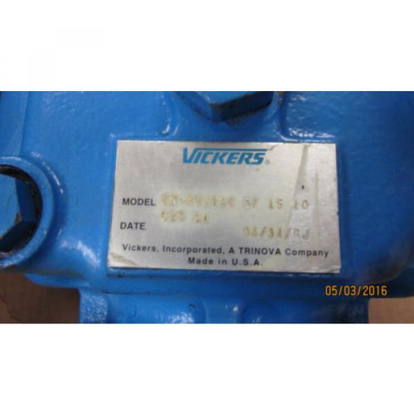 VICKERS/EATON Barbados PVH74CRF1S10C2531  PISTON PUMP - Origin C25 31 #4 image