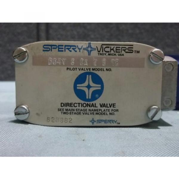 Used Gambia Sperry Vickers DG4V 3 2A W B 12 Pilot/Directional Valve 110-120VAC 50/60Hz #2 image