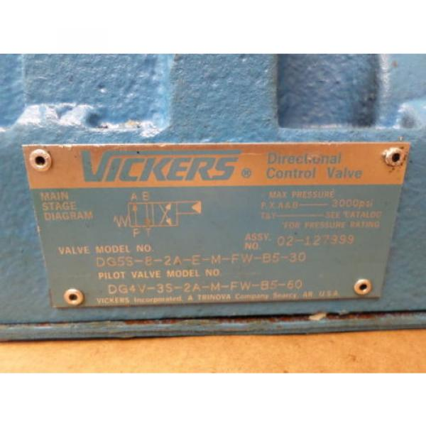Vickers United States of America  DG4V-3S-2A-M-FW-B5-60  w/ Directional Control Valve #6 image