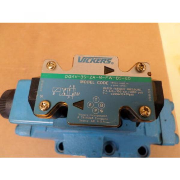 Vickers United States of America  DG4V-3S-2A-M-FW-B5-60  w/ Directional Control Valve #7 image