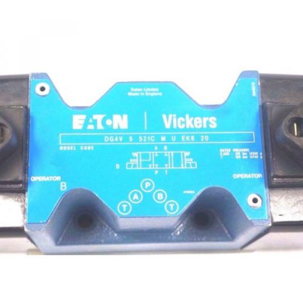 Origin Haiti VICKERS DG4V-5-521C-M-U-EK6-20 VALVE DG4V 5 521C M U EK6 20 #2 image