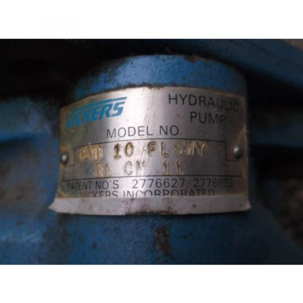 Large Gambia  Vickers Hydraulic Pump -Origin- #7 image