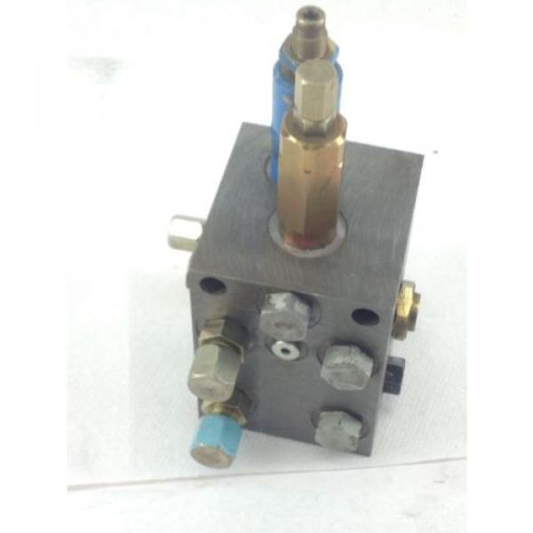 USED Moldova, Republic of  VICKERS HYDRAULIC  # 719-PSV5-10-0-0 PRESSURE SEQUENCE VALVE HB4 #1 image
