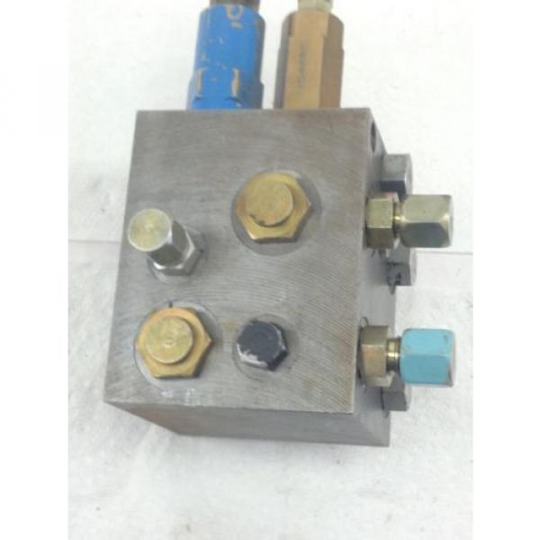 USED Moldova, Republic of  VICKERS HYDRAULIC  # 719-PSV5-10-0-0 PRESSURE SEQUENCE VALVE HB4 #4 image