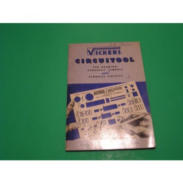 Vickers Honduras Circuitool for Drawing Hydraulic Symbols and Symbolic Circuits 1952 #1 image