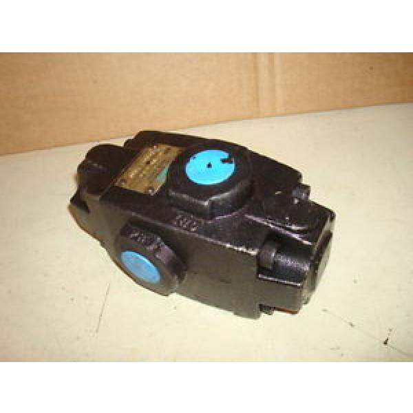 VICKERS Russia HYDRAULIC PILOT CHECK VALVE PART #626517 K93S AE1271A #1 image