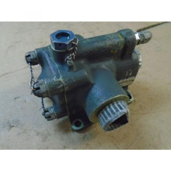1 Brazil EA USED VICKERS HYDRAULIC SAFETY RELIEF VALVE FOR VINTAGE AIRCRAFT P/N AA11602 #1 image