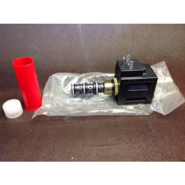 Vickers Niger hydraulic valve solenoid coil 120 VAC 02-178114 Assembly Origin   $99 #1 image