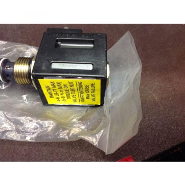 Vickers Niger hydraulic valve solenoid coil 120 VAC 02-178114 Assembly Origin   $99 #5 image