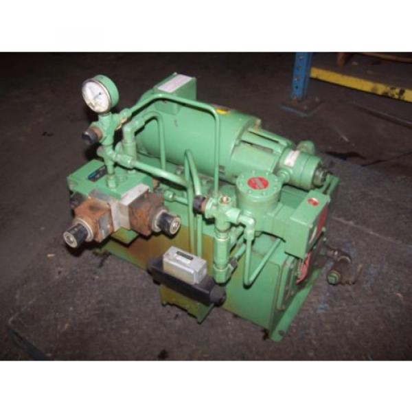 VICKERS Bulgaria DOUBLE A 2 HP HYDRAULIC POWER UNIT MODEL T10P GEROTOR B15-P-10A2 #1 image