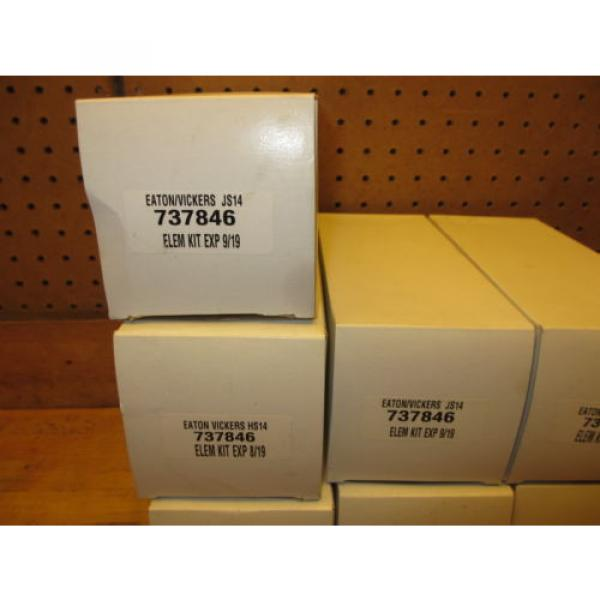 Eaton Liberia  / Vickers 737846 Hydraulic Filter Kit origin Old Stock 737547 element #3 image
