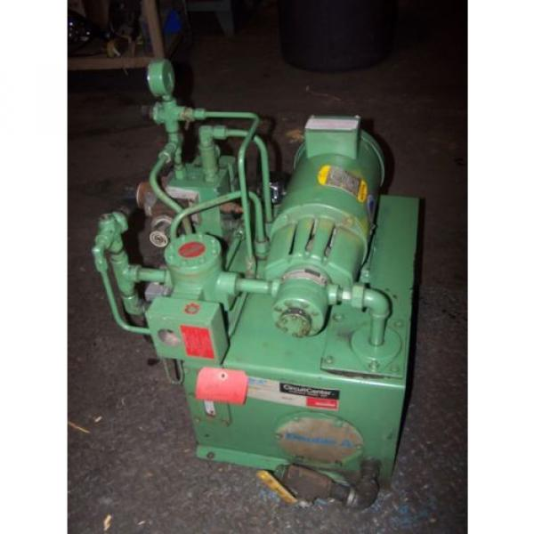 VICKERS Bulgaria DOUBLE A 2 HP HYDRAULIC POWER UNIT MODEL T10P GEROTOR B15-P-10A2 #4 image