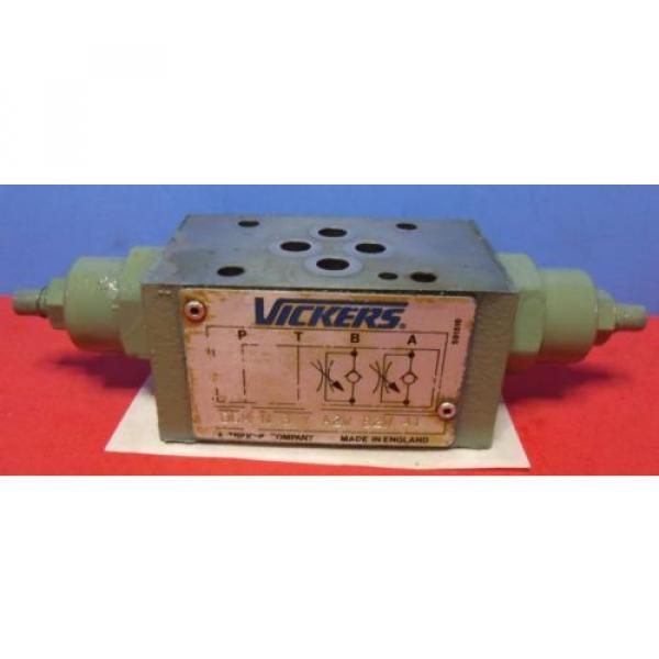 Vickers Belarus Dual Hydraulic Flow Control DGMFN-3-Y-A2W-B2W-41 #1 image