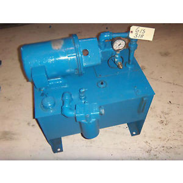 Vickers Niger  3HP 2 GPM Hydraulic Power Unit #1 image