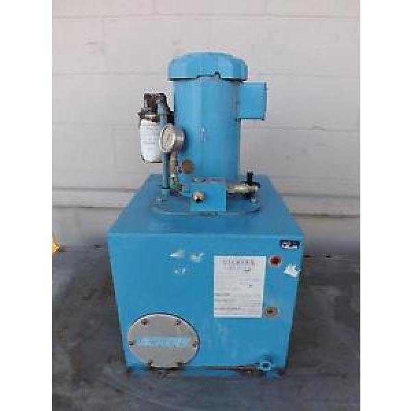 Vickers Cuba  00C-33624-02, 02-117579, 6Z614 Hydraulic Power Unit T37762 #1 image