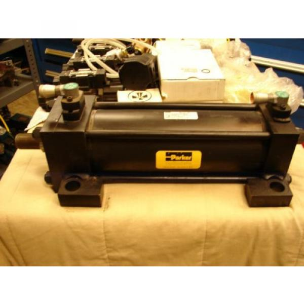 PARKER Egypt SERIES 2H 0400 CP2HLTS14A 1000 hydraulic cylinder RLA VICKERS REXROTH #3 image