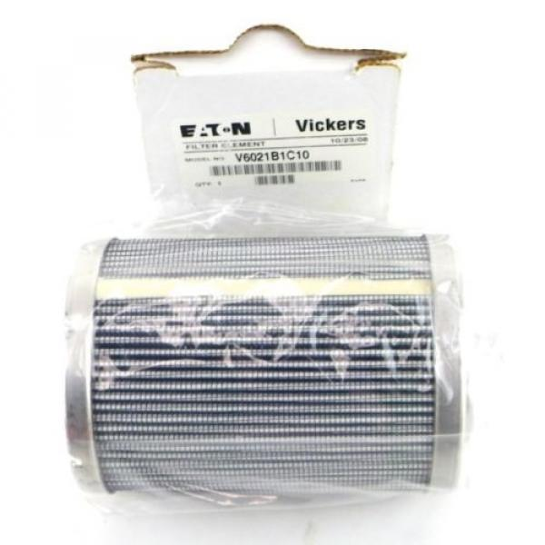 EATON Argentina VICKERS V6021B1C10 Replacement Hydraulic Filter Element Made in USA Eato1K #1 image