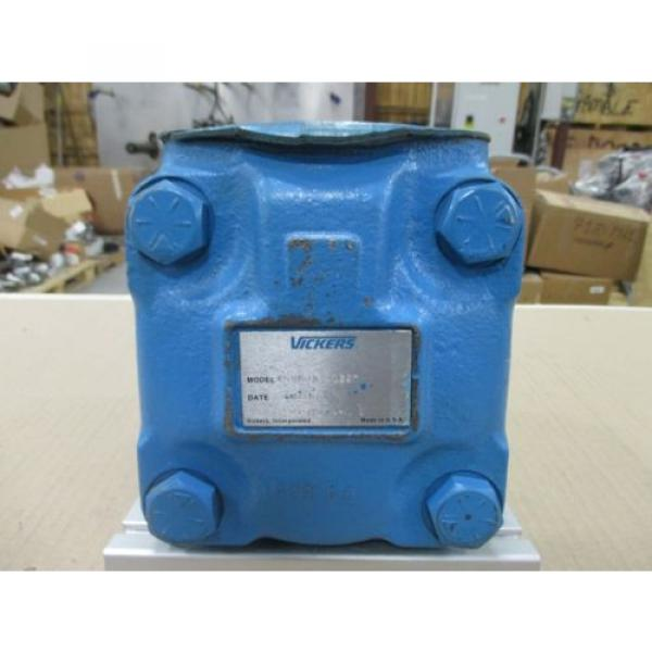Origin Luxembourg VICKERS V SERIES LOW NOISE HYDRAULIC INTRAVANE PUMP, PN# 45V50A 1D22R #4 image