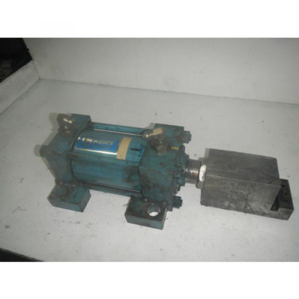 Vickers Gibraltar 4#034; bore by 4#034; Stroke TG01HRGA5A400 Hydraulic Cylinder #1 image