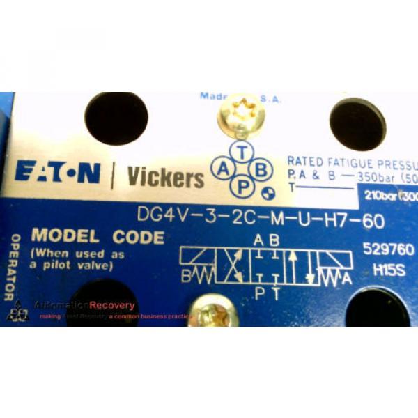 VICKERS Gambia DG4V-3-2C-M-U-H7-60, SOLENOID VALVE, 24VDC 30W, 3000 PSI,, Origin #215233 #3 image