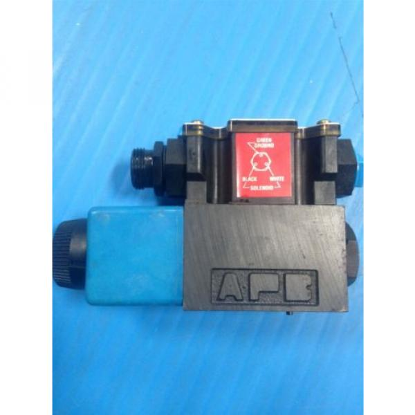 USED Gambia  VICKERS DG4V-3S-2A-M-FPA3WL-B5-60 SOLENOID DIRECTIONAL VALVE G2 #5 image