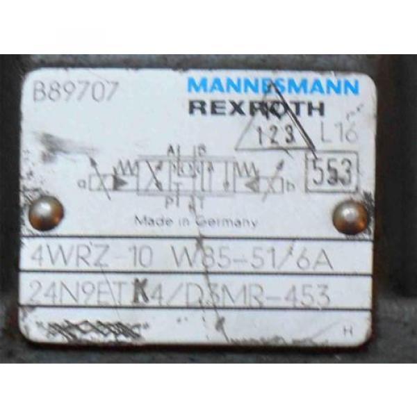 Rexroth France Hydraulic Directional Control Valve 4WRZ-10-W85-51/6A  24N9ETK4/D3MR-453 #3 image