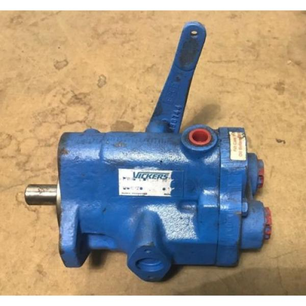 VICKERS Samoa Eastern  HYDRAULIC INLINE 6 GPM PISTON PUMP PVB6-LDY-21-ML10 #1 image