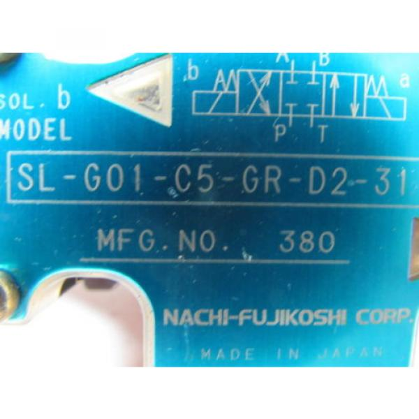 Nachi Guatemala  SL-G01-C5-R-D2-31 Hydraulic Solenoid Directional Control Valve Wet Type #9 image