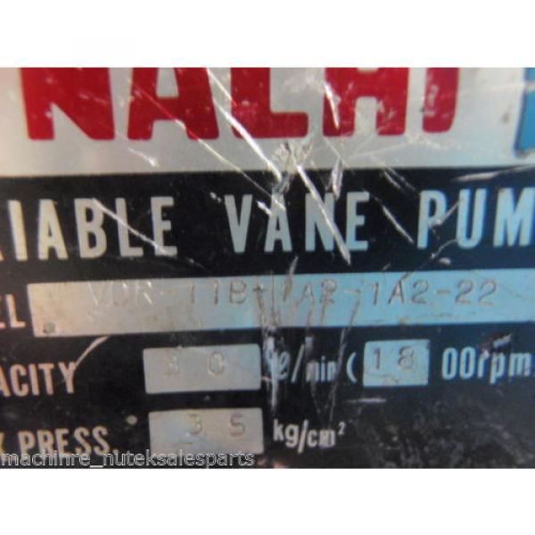 Nachi Uganda Variable Vane Pump VDR-11B-1A2-1A2-22_VDR11B1A21A222 #4 image