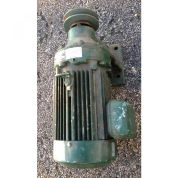 SM CYCLO 3/4 HP 3 PHASE INDUCTION MOTOR WITH SUMITOMO GEAR REDUCER 6:1 #6 image