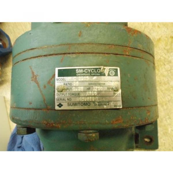 SUMITOMO SM-CYCLO HC3105 GEAR DRIVE, RATIO 35 USED #2 image