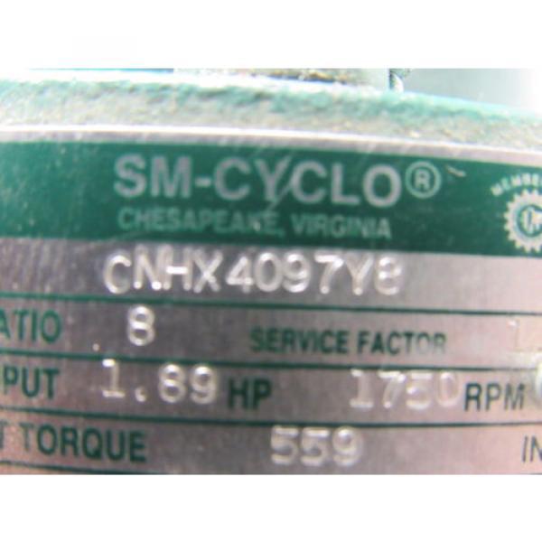 Sumitomo SM-Cyclo CNHX4097Y8 Inline Gear Reducer 8:1 Ratio 189 Hp 1750RPM #9 image