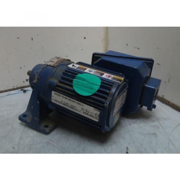Sumitomo SM-Cyclo Induction Geared Motor, CNHM-01-6065YB-29, 29:1,  WARRANTY #1 image