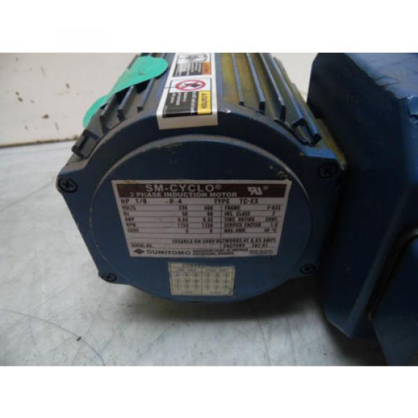 Sumitomo SM-Cyclo Induction Geared Motor, CNHM-01-6065YB-29, 29:1,  WARRANTY #2 image