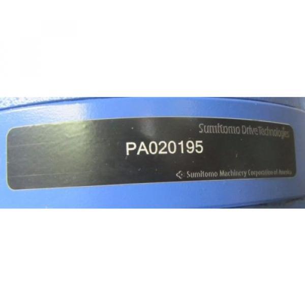 SUMITOMO PA020195 CNH-6125Y-29 29:1 RATIO WORM GEAR SPEED REDUCER GEARBOX Origin #3 image