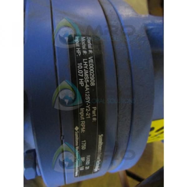 SUMITOMO LHYJMS5-4A125Y-Y2-21 GEAR REDUCER Origin NO BOX #4 image