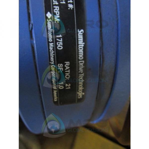 SUMITOMO LHYJMS5-4A125Y-Y2-21 GEAR REDUCER Origin NO BOX #5 image