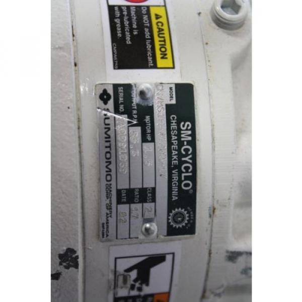 SUMITOMO SM-CYCLO CNVMS05-4105-A-AV-59 GEAR MOTOR 59:1 #2 image