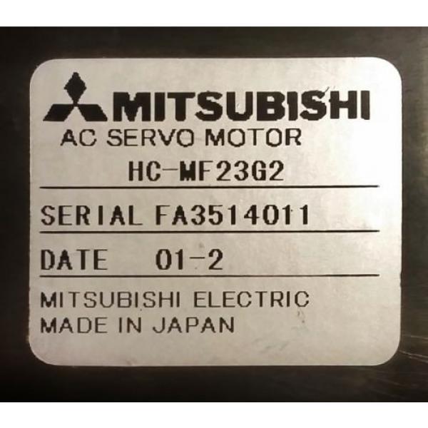 MITSUBISHI HC-MF23G2 SUMITOMO MC DRIVE ANFJ-K10-SV-5 BK1-05B-02MEKA GEARHEAD #2 image