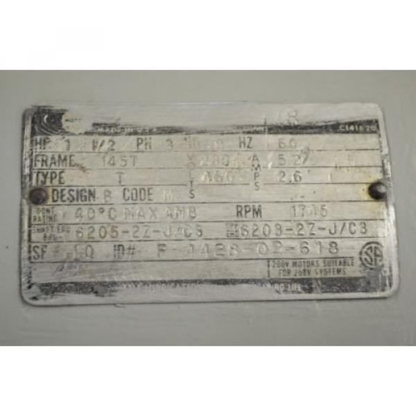 Sumitomo, 15 HP, 603 RPM, 230/460 V, CNHS-6125Y-SB-29, Gear box #6 image