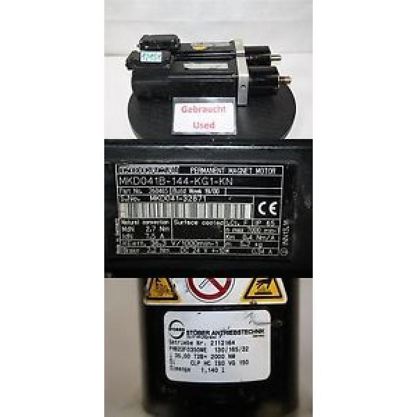 Indramat rexroth MKD041B-144-KG1-KN SERVOMOTOR motor #1 image