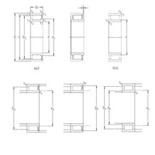 Cylindrical Roller Bearings NCF29/1000V SKF #1 image