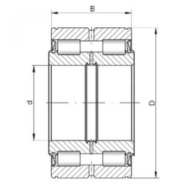 Cylindrical Roller Bearings NNF5018 V ISO #1 image